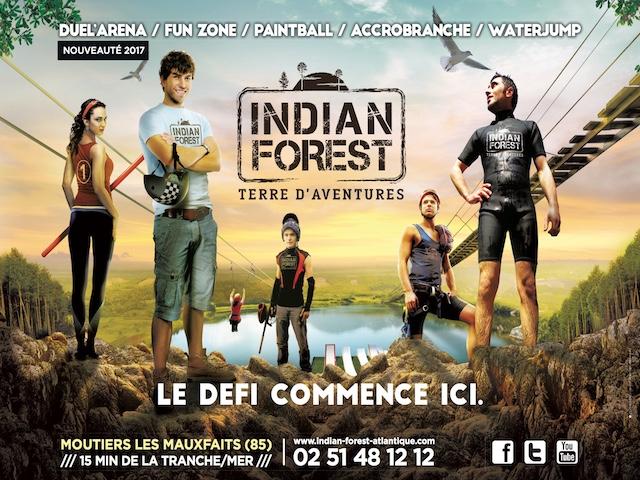 Indian Forest Sensations En Vende  Camping VendeAux Alentours De